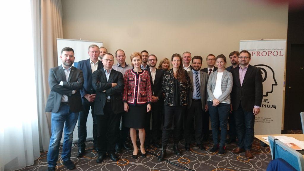 Konferencja wydawców i agencji prasowych w Warszawie