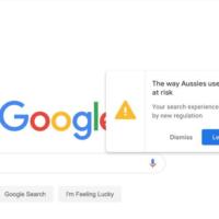 Google przekonuje australijskich internautów, że regulacja dotycząca płacenia wydawcom to dla nich zagrożenie