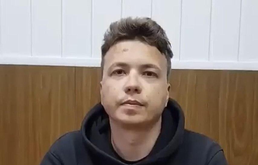 Raman Pratasievicz - aresztowany po zmuszeniu do lądowania samolotu lecącego z Aten do Wilna