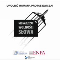 Europejscy wydawcy prasy wzywają do uwolnienia Romana Protasiewicza i obrony wolności słowa